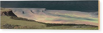 Wood Print featuring the photograph Oregon Canyon Mountain Layers by Leland D Howard