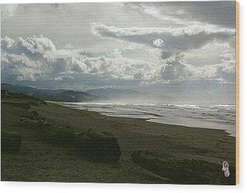 Oregon Coast 10 Wood Print