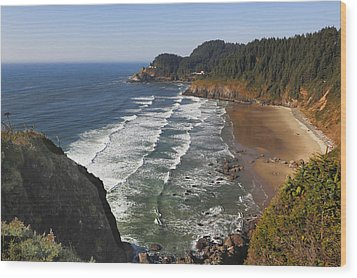 Oregon Coast No 1 Wood Print