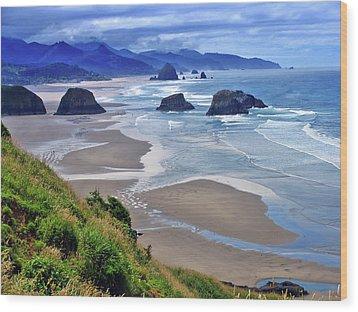 Oregon Coast Wood Print by Scott Mahon