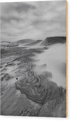 Wood Print featuring the photograph Oregon Dune Wasteland 2 by Ryan Manuel