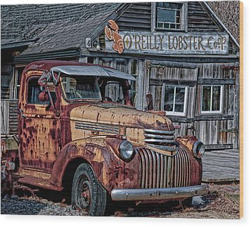 O'reilly Lobster Pound Wood Print