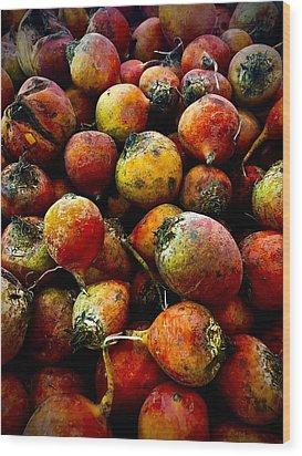 Organic Beets Wood Print