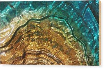 Organic Flow Wood Print