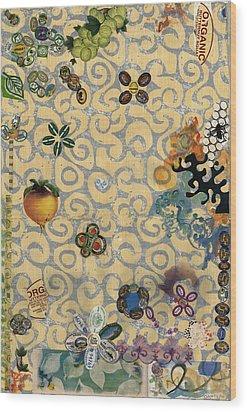 Organic Wood Print by Gloria Von Sperling
