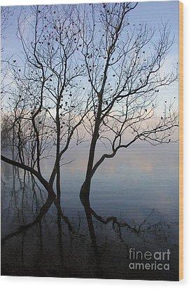 Wood Print featuring the photograph Original Dancing Tree by Paula Guttilla