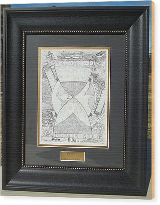 Original-hourglass-framed Wood Print by Glenn McCarthy Art and Photography