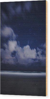Orion Beach Wood Print