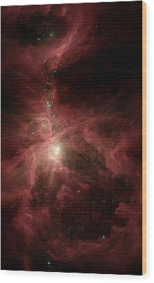 Orions Inner Beauty Wood Print by Stocktrek Images