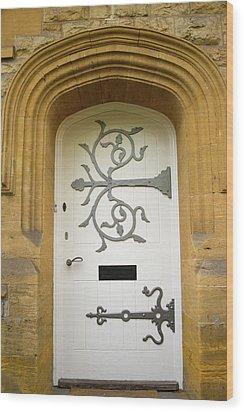 Ornate Door 1 Wood Print by Douglas Barnett