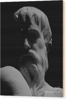 Orpheus Looks Back Wood Print by RC DeWinter