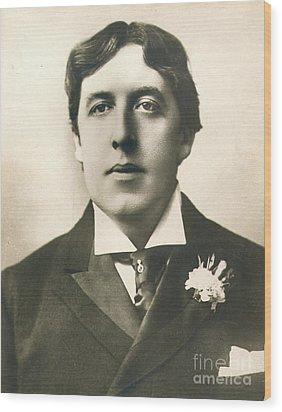 Oscar Wilde Wood Print by Granger