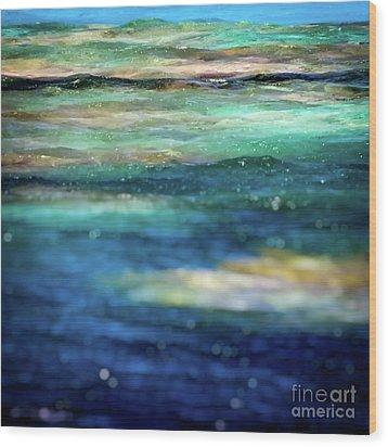 Osprey Reef Wood Print by Doug Sturgess