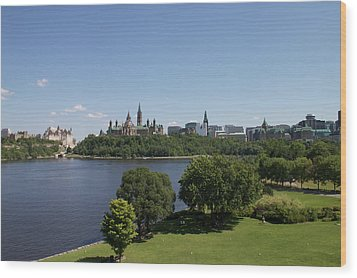 Wood Print featuring the photograph Ottawa by Josef Pittner