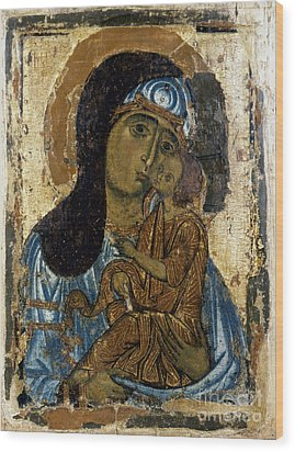 Our Lady Of Tenderness Wood Print by Granger
