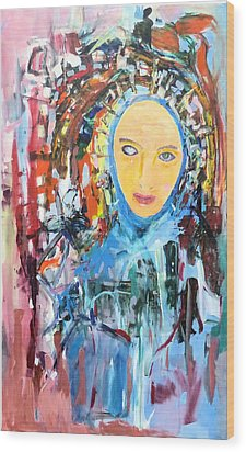 Our Lady Of The Left Eye Wood Print