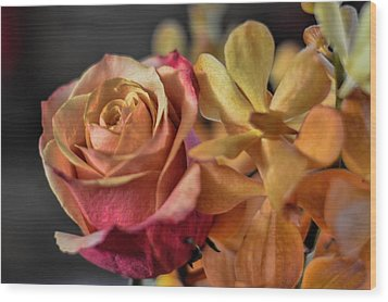 Wood Print featuring the photograph Our Passion by Diana Mary Sharpton