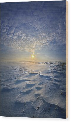 Wood Print featuring the photograph Out Of The East by Phil Koch