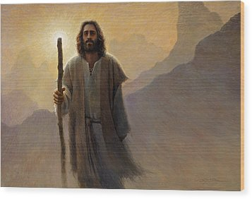 Out Of The Wilderness Wood Print by Greg Olsen