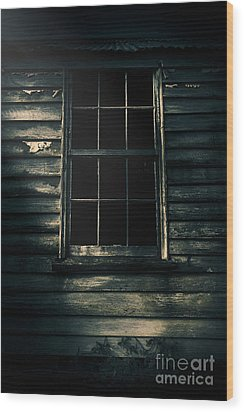 Wood Print featuring the photograph Outback House Of Horrors by Jorgo Photography - Wall Art Gallery