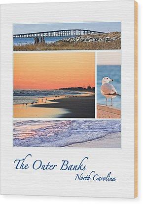 Outer Banks North Carolina Wood Print
