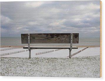 Outlook Wood Print by Dan Holm