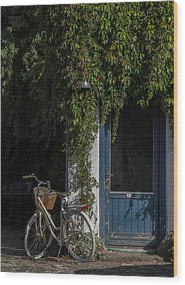 Wood Print featuring the photograph Outside Number Five by Odd Jeppesen
