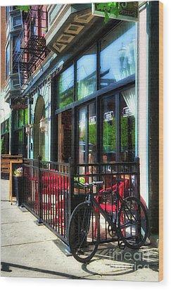 Over The Rhine In Cincinnati # 10 Wood Print by Mel Steinhauer