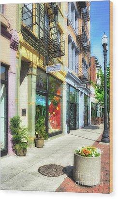 Over The Rhine In Cincinnati # 5 Wood Print by Mel Steinhauer