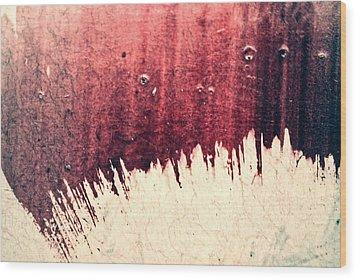 Overdub Wood Print by Ryan Kelly
