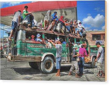 Overload Wood Print by Yhun Suarez