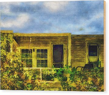 Overtaken Wood Print by RC deWinter