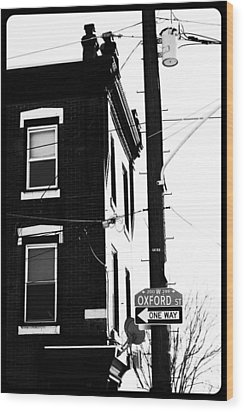 Wood Print featuring the photograph Oxford St by Christopher Woods