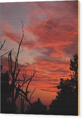 Wood Print featuring the photograph Ozark Dawn by Michael Dougherty