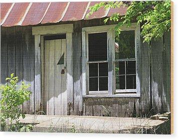 Ozark Home Wood Print by Marty Koch