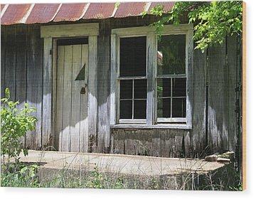 Ozark Homestead Wood Print by Marty Koch
