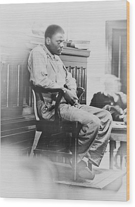 Ozzie Powell, One Of The Nine Wood Print by Everett