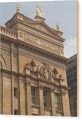 Pabst Theater Wood Print by Peter Skiba