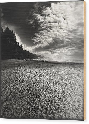 Wood Print featuring the photograph Pacific Coast Highway Oregon by Douglas MooreZart