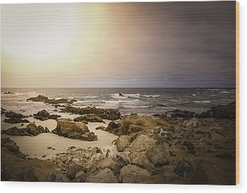 Wood Print featuring the photograph Pacific Coastline by Ryan Photography