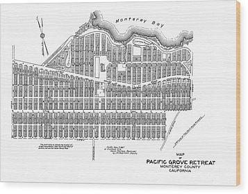 Pacific Grove May 7 1887 Wood Print