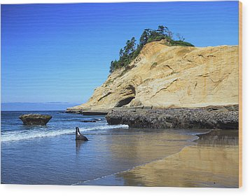 Wood Print featuring the photograph Pacific Morning by David Chandler