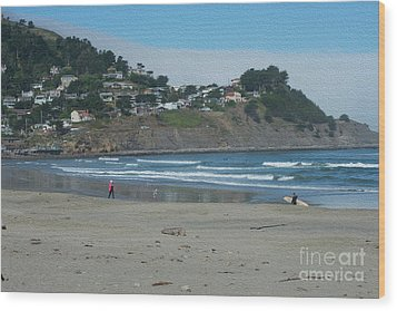 Wood Print featuring the photograph Pacifica California by David Bearden