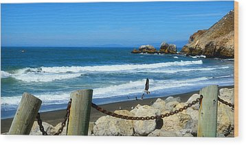 Wood Print featuring the photograph Pacifica Coast by Glenn McCarthy Art and Photography