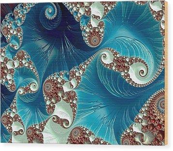 Pacifica Wood Print by Susan Maxwell Schmidt
