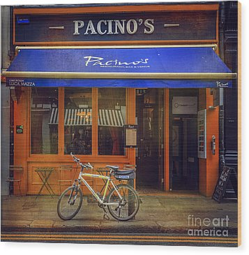 Pacino's Garda Bicycle Wood Print
