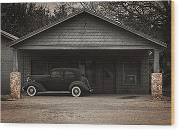 Packard Wood Print