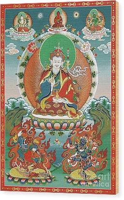 Padmasambhava Wood Print