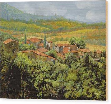 Paesaggio Toscano Wood Print