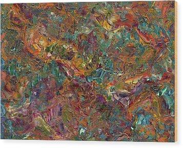 Paint Number 16 Wood Print
